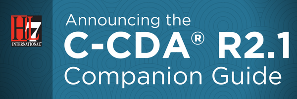 Release of the HL7 C-CDA® R2.1 Companion Guide
