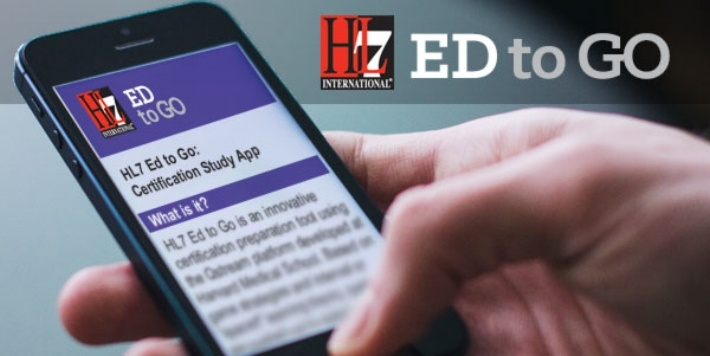 HL7 Education Ed to Go Mobile App for certification prep