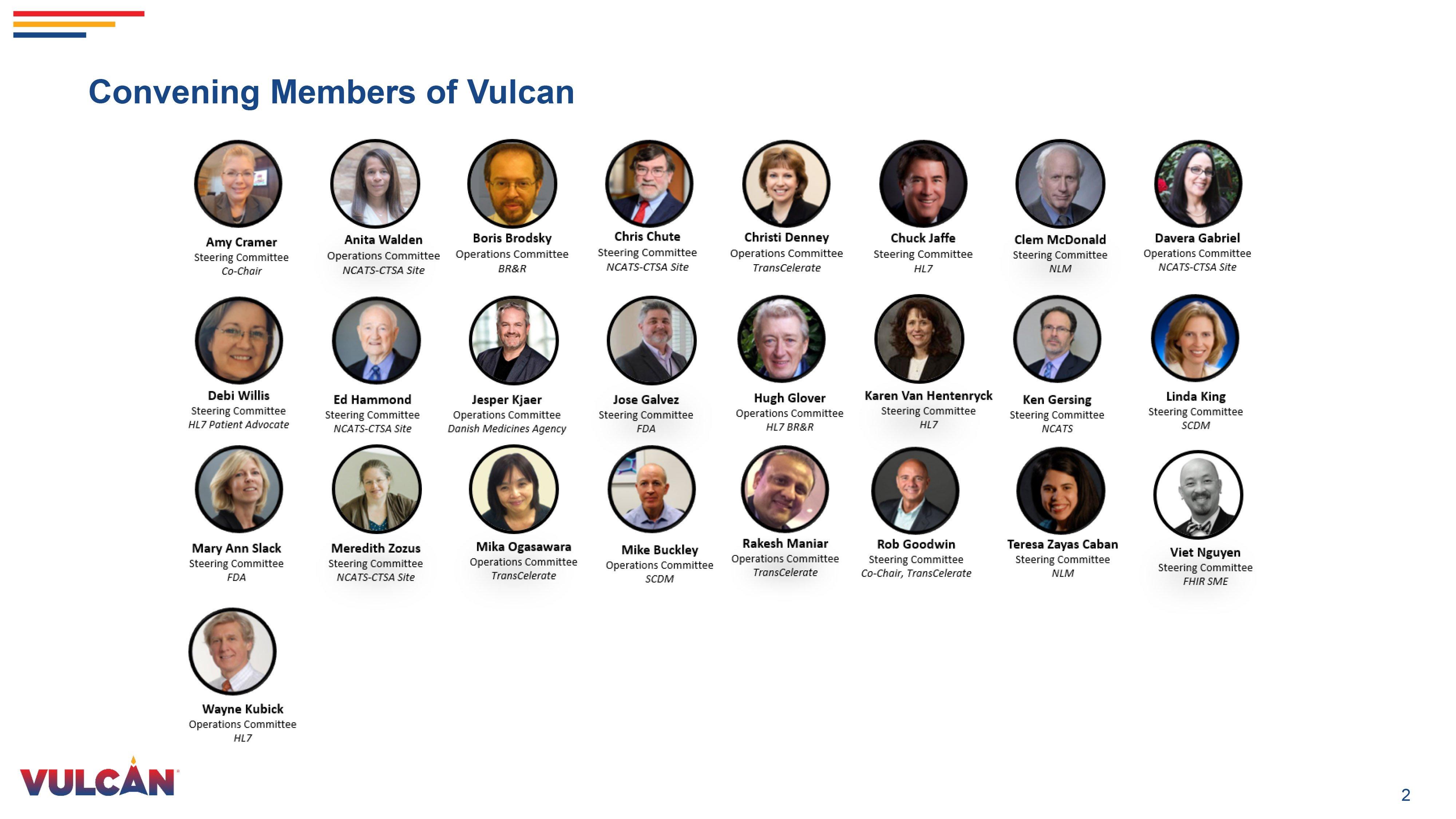 Vulcan members