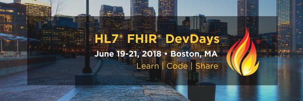 Hl7 Fhir Devdays Recap Boston Is On Fhir